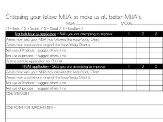 Production Arts Make-up | STARTER STUDENT PACK Patch text, Kit case Handout