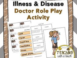 Illness and Disease Doctor Role Play Activity
