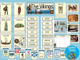 Vikings Display Posters (Invaders and Settlers)