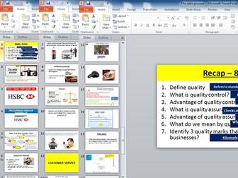 Edexcel GCSE Business (9-1) Theme 2 - 2.3.4 The sales process