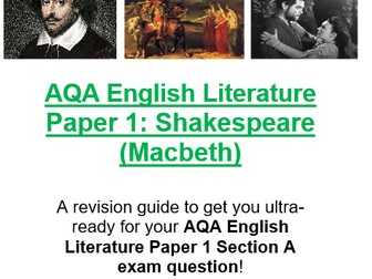 AQA English Language and Literature Revision
