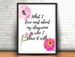 Teacher Gift, Poster, Teacher Art