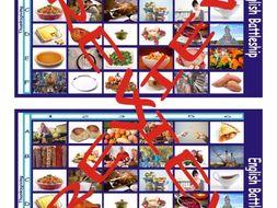 Thanksgiving Battleship Board Game