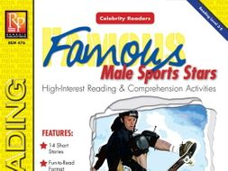 Celebrity Readers: Famous Male Athletes