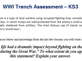 Trench Life Assessment