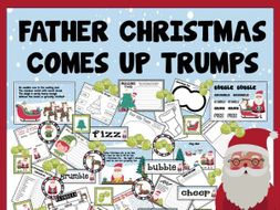 FATHER CHRISTMAS COMES UP TRUMPS STORY RESOURCES