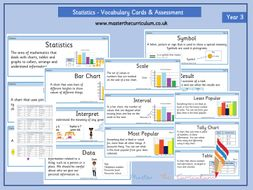 Year 3 - Statistics Vocabulary and Assessment - White Rose Style