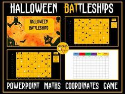 Halloween-Themed Battleships
