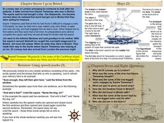 Treasure Island Part Two Slide Pack