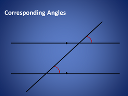 Corresponding and Alternate Angles (Angles in Parallel Lines) - full lesson