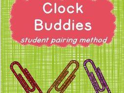 Clock Buddies - Student Pairing