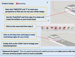 SketchUp CAD Modelling