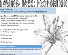 Proportion-worksheets---Differentiated-pencil-drawings.pptx