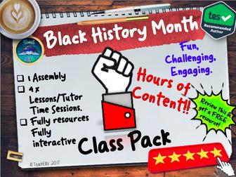 Black History Month, Black History Month, Black History Month