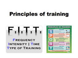 Principles of training/ training principles FITT and SPOR BTEC SPORT/ GCSE PE PRINCIPLES OF TRAINING