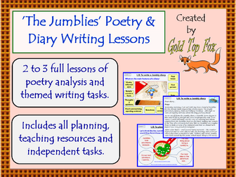Jumblies Poetry and Diary Writing Lessons