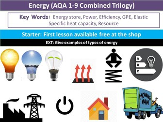 Energy (AQA 1-9 Combined Trilogy)