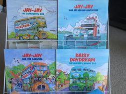 Jay-Jay Bus Story Books