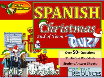 Spanish Christmas MFL Quiz 2019
