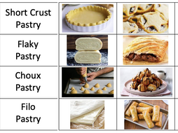 Pastry - Shortcrust, puff and choux