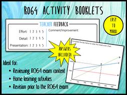 LO2 R064 Activity Booklet - Ideal Homework! (Cambridge National in Enterprise & Marketing)