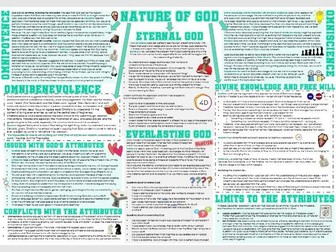 OCR Philosophy of Religion: Nature or Attributes of God - Learning Mat