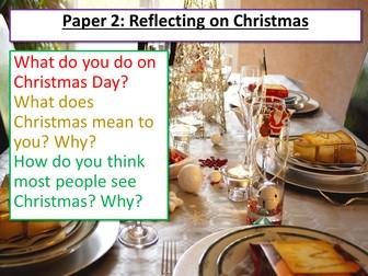 Christmas AQA English Language Paper 2