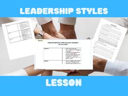 Leadership Styles Lesson