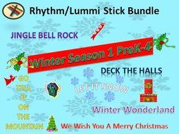 BUNDLE: Rhythm Sticks Winter Season 1 PreK-4