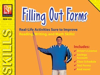 Practical Practice Reading: Filling Out Forms