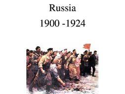 Russia 1900 - 1929