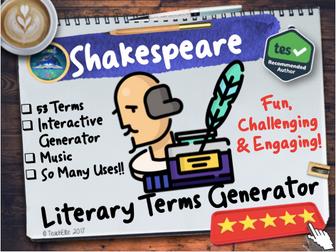 Shakespeare: Shakespeare Literary Terms