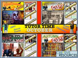 October Tutor time Package 2019
