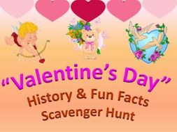 Valentine S Day Scavenger Hunt By Ilaxippatel