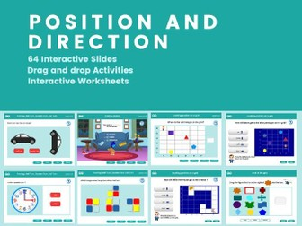 Position and Direction - Year 1, Key stage 1