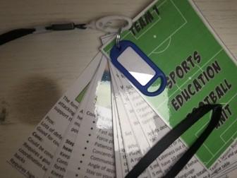 Sports Education Football unit