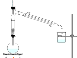 Fractional Distillation with Glass Beads Diagrams