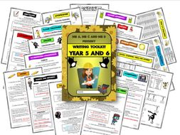 Year 5 and 6 Writing Knowledge Organsier / Toolkit by Mr A, Mr C and Mr D Present
