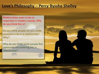 Love and Relationships - Love's Philosophy