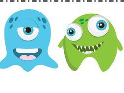 Math Fact Fluency Kit: Monster Themed
