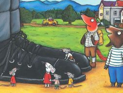 Planning Week 2 'The Smartest Giant in Town' by Julia Donaldson.
