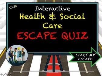 Health and Social Care Escape Quiz