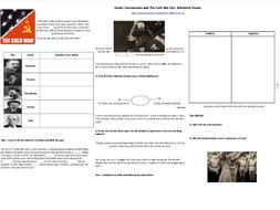 BBC History File—Soviet Communism and The Cold War Ep2. Bolshevik Russia- Supporting Worksheet