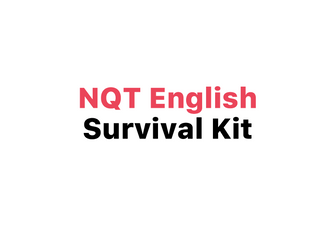 NQT English Survival Kit