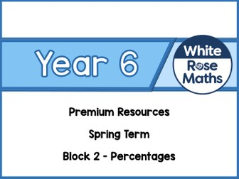 Year 6 - Percentages