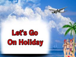 Let's Go On Holiday - Total Song Pack