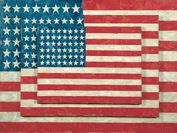 Jasper Johns Quotes On His Flag Target Number Paintings