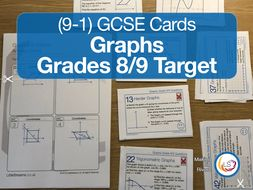 Graphs - New 9-1 GCSE Maths Grade 8/9 target
