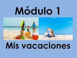 KS3 Viva 2 - Module 1 Mis vacaciones