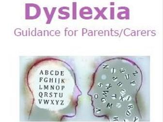 Dyslexia Parent/Carer Information Leaflet